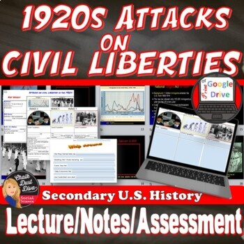 1920s attacks on civil liberties lecture power point print and digital toneelgroepblik Images