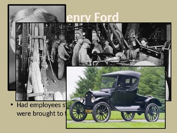The 1920s & Great Depression PowerPoint