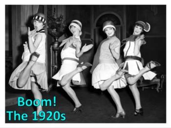 The 1920s (U.S. History) Bundle w/ video