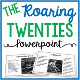 The Roaring Twenties {with Scaffolded Notes}