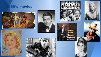 The 1950's Entertainment & Civil Rights