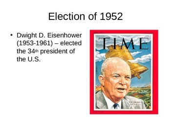 The 1950s (Eisenhower / Truman) Powerpoint Notes