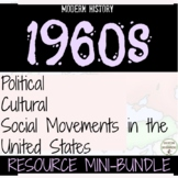 The 1960s Curriculum Resource Bundle for Cold War and U.S.