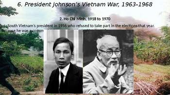 The 1960s, Part II: The Vietnam War