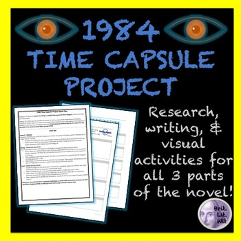 """1984 (Nineteen Eighty-Four) """"Time Capsule"""" Project"""