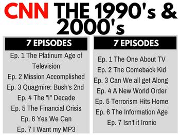 The 1990's + 2000's CNN Bundle Ep. 1-14