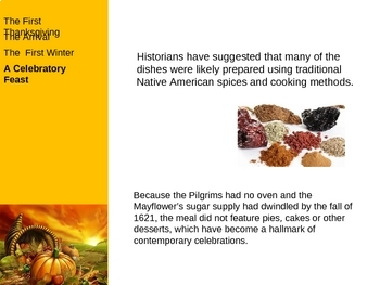 The 1st Thanksgiving PowerPoint Presentation
