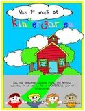 The 1st Week of Kindergarten!