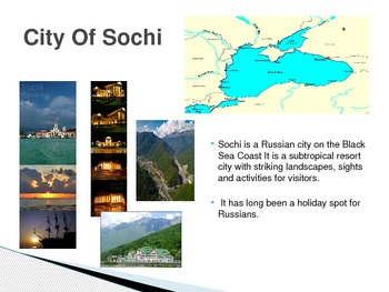 The 2014 Winter Olympics At Sochi, Russia