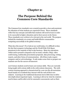 The 21st Century Common Core Writing Curriculum for Grades 6-12