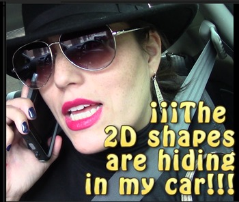 The 2D shapes escaped and are hiding in my car!