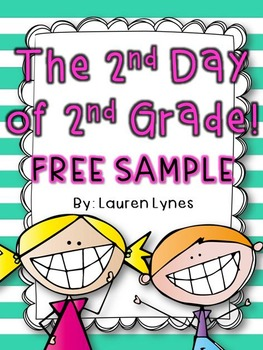The 2nd Day of 2nd Grade! {FREE SAMPLE}
