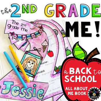 "The 2nd Grade Me! {A Beginning of the Year ""All About Me"" Book}"