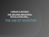 """The 2nd Industrial Revolution """"America Booms After the Civil War"""""""