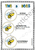 The 3 Bees (Classroom Rules)