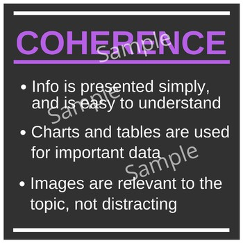 The 3 C's of Slideshows - Classroom Poster Set