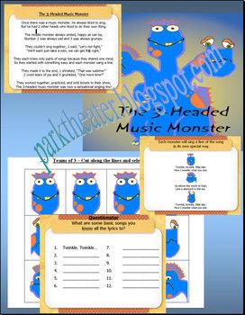 The 3-Headed Music Monster