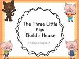 The 3 Little Pigs Engineering Challenge: A Fairy tale STEM