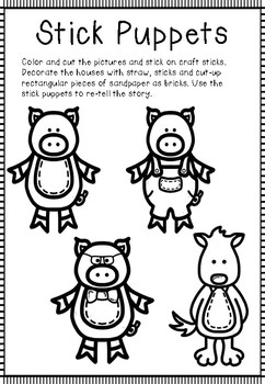 The 3 Little Pigs (Homes)