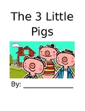 The 3 Little Pigs booklet