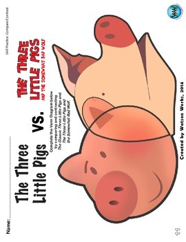 The 3 Little Pigs vs. The Three Little Pigs & the Somewhat Bad Wolf Mini-Unit