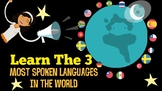 The 3 Most Spoken Languages in the World