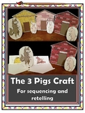Sequence and retell - The 3 Pigs