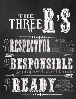 The 3 R's Poster