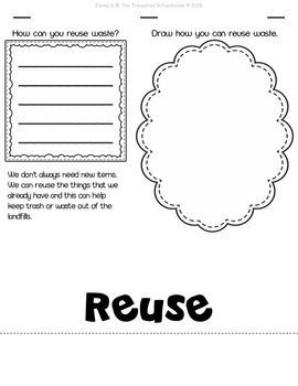 The 3 R's of Earth Day Flipbook  {FREEbie}