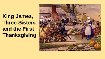 The 3 Sisters and the First Thanksgiving