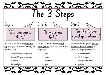 The 3 Steps: A Communication Social Script for Everyday Conflicts