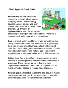 The 3 Types of Fossil Fuels