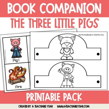 The 3 Pigs and the Wolf- Book Companion