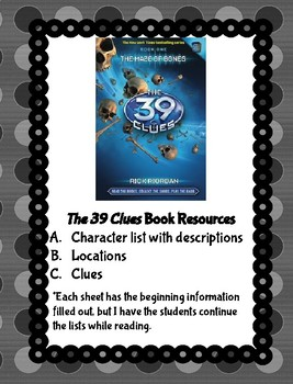 The 39 Clues Book Resources