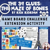 The 39 Clues Maze of Bones Board Game Activity