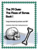 """The 39 Clues: Maze of Bones"" (book 1) Comprehension Questions & KEY"