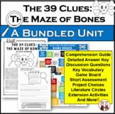The 39 Clues The Maze of Bones Novel Activities Bundle