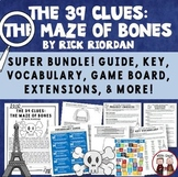 The 39 Clues The Maze of Bones Novel Activities Bundle