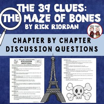 The 39 Clues The Maze of Bones Reading Discussion Questions