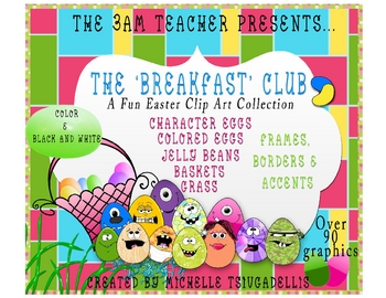 The 3AM Teacher Presents: A Fun Easter Clip Art Bundle