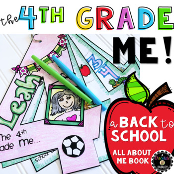 """The 4th Grade Me! {A Beginning of the Year """"All About Me"""" Book}"""