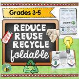 Reduce, Reuse, Recycle Interactive Notebook foldable-3R