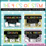 The 4 C's of STEM Posters
