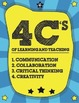The 4 C's- Elementary Poster