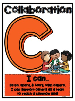 The 4 C's of STEM/STEAM