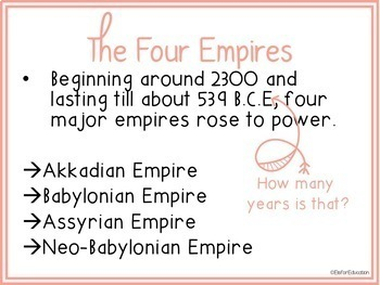 The 4 Empires of Mesopotamia BUNDLE (Includes 3 products!)