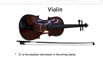 The 4 Instrument Families of the Orchestra