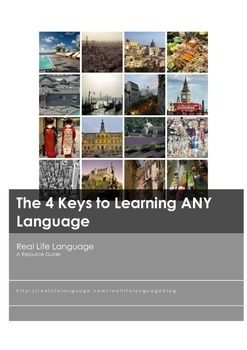 The 4 Keys to Learning ANY Language