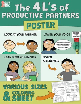 The 4 L's of Productive Partners Poster