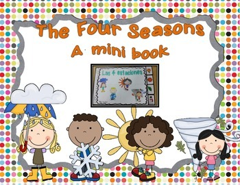 The 4 Seasons: A mini book (English Version)